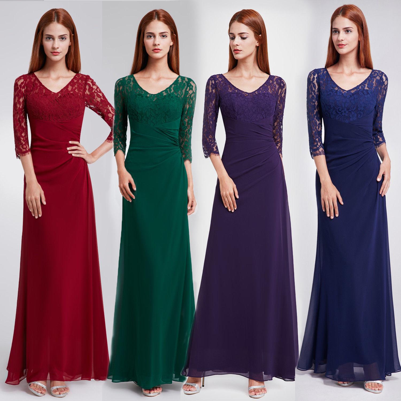 Pěkné splývavé šaty s krajkovými rukávy k dodání ve více barvách i  velikostech 7435fa22d2