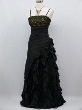 Dámské plesové šaty s volány