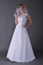 Dámské svatební krajkové šaty